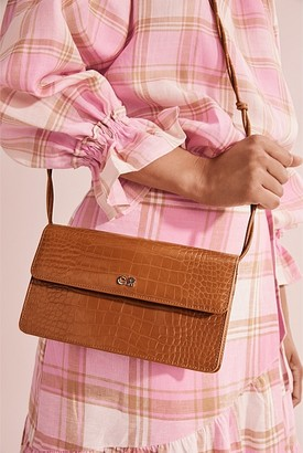 Country Road Knotted Strap Crossbody Bag