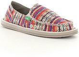 Sanuk Donna Tribal-Print Slip-On Shoes