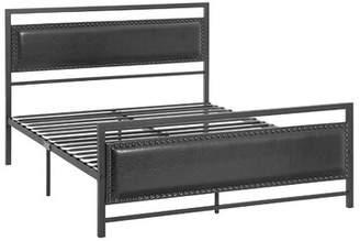 Laurene Metal Upholstered Platform Bed Red Barrel Studio Size: Full/Double