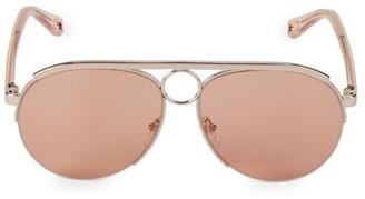 Chloé Romie 59MM Aviator Sunglasses