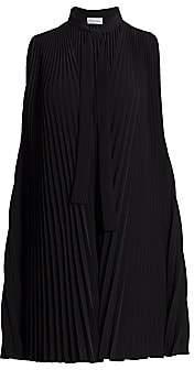 RED Valentino Women's Pleated Neck-Tie Shift Dress