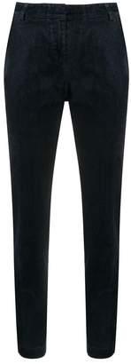 Kiltie slim-fit denim trousers