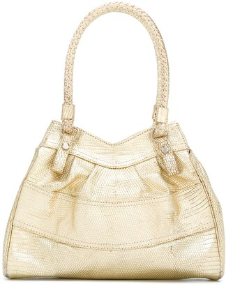 Giorgio Armani Pre-Owned small panelled tote bag