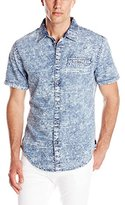 Calvin Klein Jeans Men's Crackle Print Shirt
