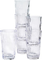 Tabletops Unlimited Tabletops Gallery Set of 6 Acrylic Tumbler Glasses