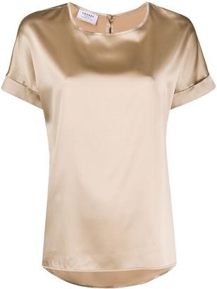 Snobby Sheep Silk Short Sleeve Top