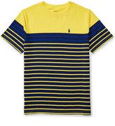 Ralph Lauren Striped Jersey T-Shirt, Big Boys (8-20)
