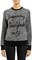Superdry Embroidered Cut & Sew Crew