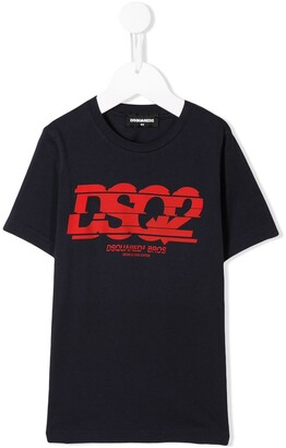 DSQUARED2 contrast logo T-shirt