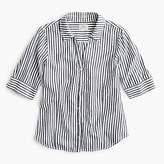J.Crew Short-sleeve button-up shirt in stripe