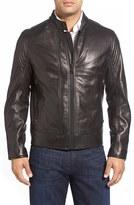 Andrew Marc Men's Windsor Leather Racer Jacket