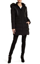 7 For All Mankind Faux Fur Hooded Jacket