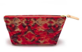 General Knot & Co Warm Indian Ikat Travel Clutch
