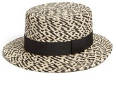 Brixton Women's Autumn Straw Hat - Black