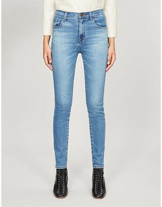 J Brand Leenah skinny super-high-rise jeans