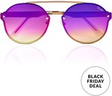 Quay Camden Heights Oval Sunglasses