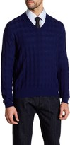 Giorgio Armani Pattern Wool Sweater