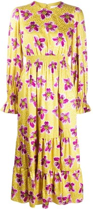Borgo de Nor Rose Leopard Print Dress