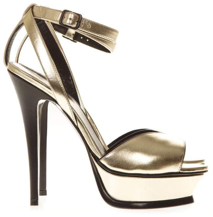 e9756c11d6 Saint Laurent Silver Women's Sandals - ShopStyle