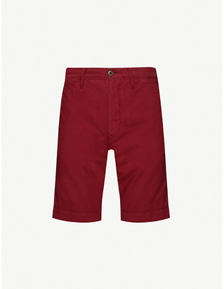 SLOWEAR Relaxed-fit cotton shorts