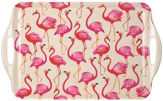 Sara Miller - Flamingo Melamine Tray - Large