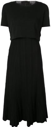 Proenza Schouler Plisse Knit Dress