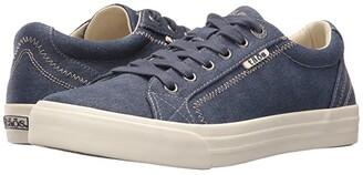Taos Footwear Plim Soul (Blue Wash Canvas) Women's Shoes