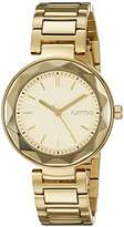RumbaTime Women's 20229 Madison Gem Analog Display Japanese Quartz Gold Watch