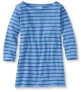 L.L. Bean Women's French Sailor's Shirt, Three-Quarter-Sleeve Boatneck
