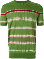 Diesel fine knit tie-dye T-shirt
