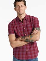 Lucky Brand Short Sleeve One Pocket Shirt