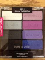 Wet n Wild 8 Color Pan Palette Shimmer The Night Away 33919 by N/A by Wet 'n Wild