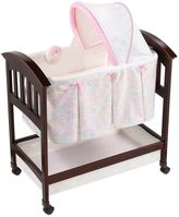 Summer Infant Classic Comfort Bedtime Blossom Wood Bassinet in Pink/White