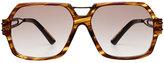 Roland Mouret Oversize Square Sunglasses