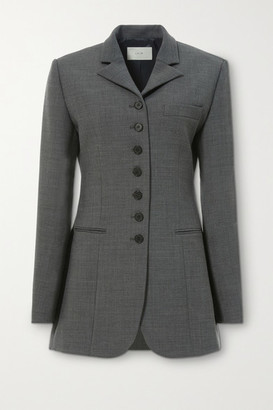 LVIR Woven Blazer - Gray