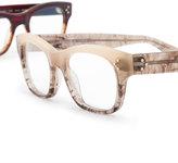 Oliver Peoples Artie Rectangular Optical Frame, Pecan Pie