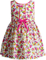 Youngland Pink Floral A-Line Dress - Infant