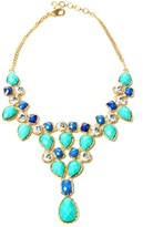 Amrita Singh Crystal & Resin Necklace.