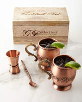 GG Collection G G Collection Acanthus Moscow Mule Four-Piece Set