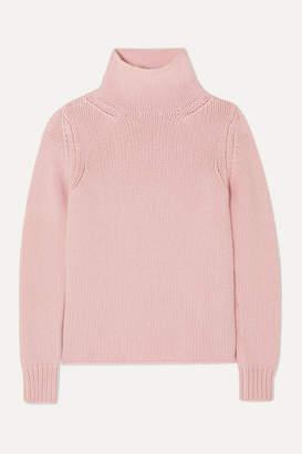 Gabriela Hearst Velimir Cashmere Turtleneck Sweater - Blush