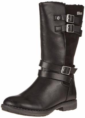 S'Oliver Girls 5-5-46606-23 High Boots Black Size: 13 UK