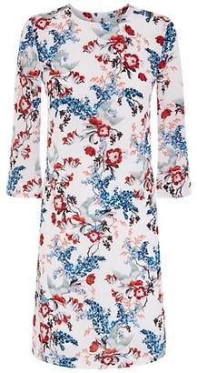 Erdem Floral Silk Shift Dress