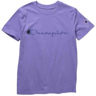 Champion Classic Script Graphic T-Shirt