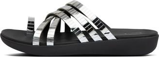 FitFlop Lola Mirror-Strap Toe-Post Sandals