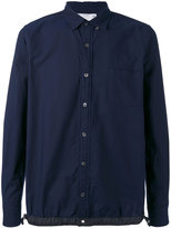 Sacai drawstring oxford shirt