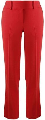Ermanno Scervino High-Waisted Pleated Trousers