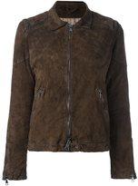 Giorgio Brato distressed effect biker jacket