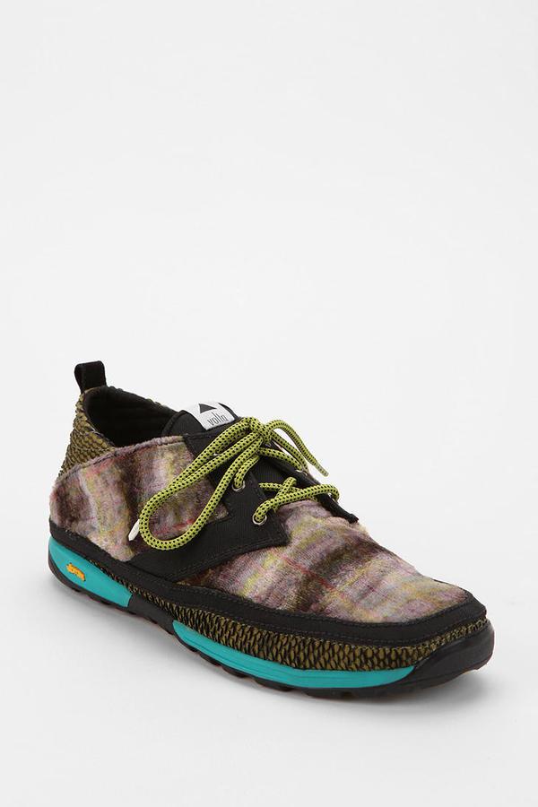 Volta Footwear Strada Velvet Lace-Up Sneaker