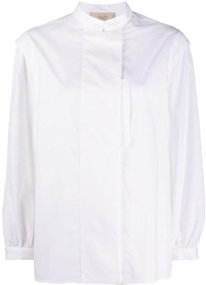 Maison Flaneur mock neck long-sleeved T-shirt