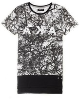 AKA Pag Long Line T-Shirt